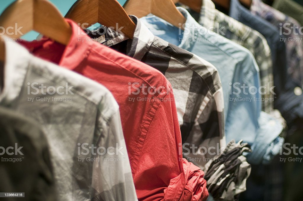Casual Shirts stock photo