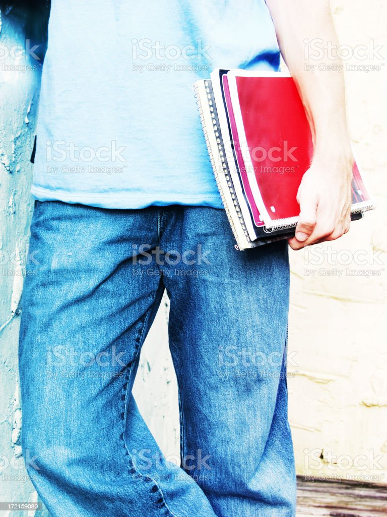 Casual student royalty-free stock photo
