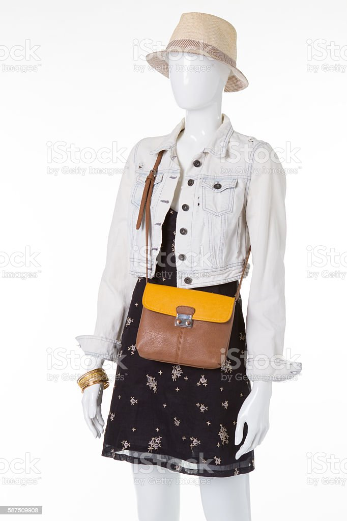 Casual style for an active summer holiday. stock photo