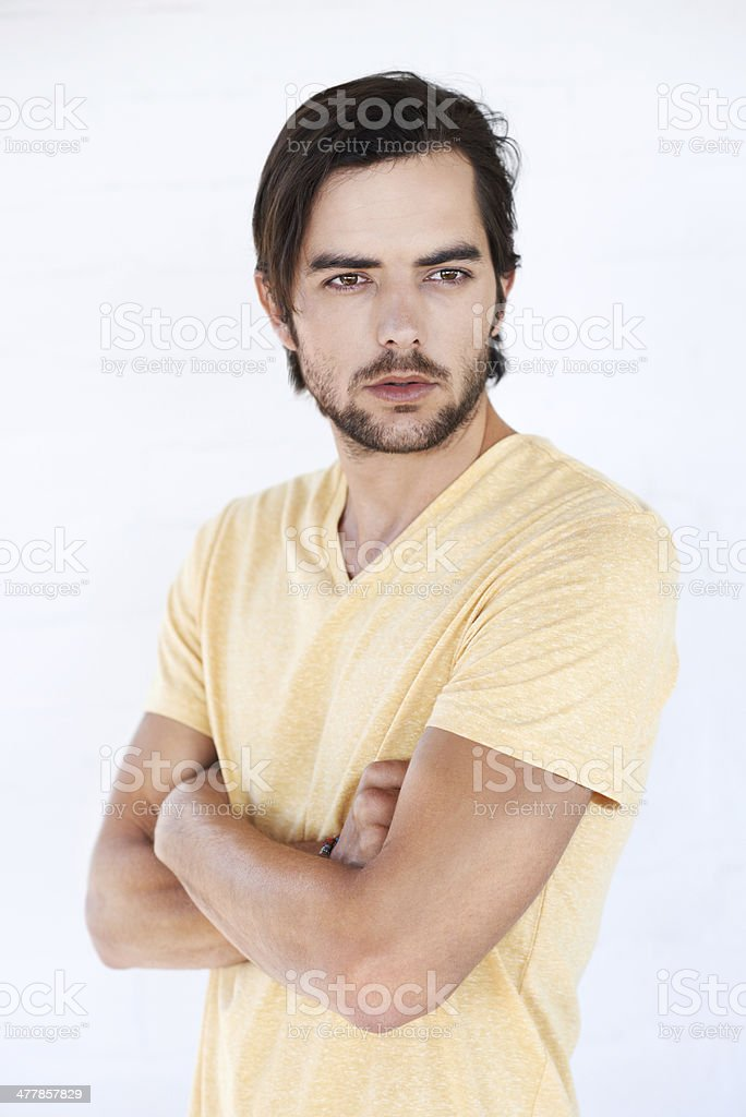 Casual style royalty-free stock photo