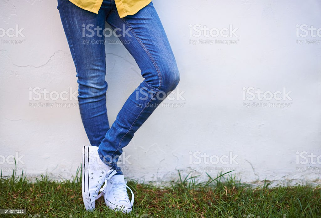 Casual style stock photo