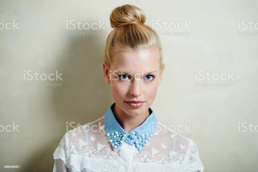 Casual yet stylish stock photo