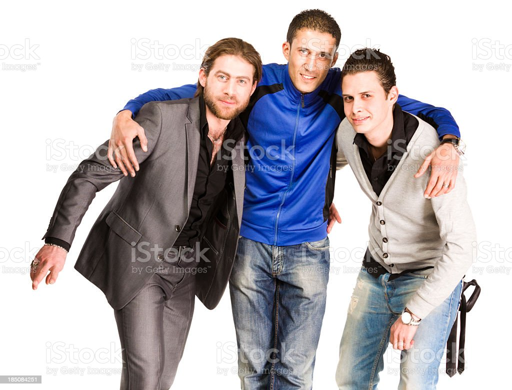 Casual Young Adults royalty-free stock photo