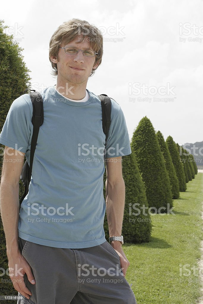 Casual young male royalty-free stock photo