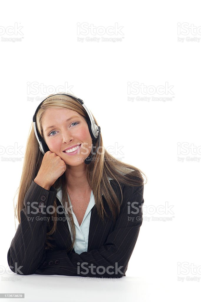 Casually Friendly Support royalty-free stock photo