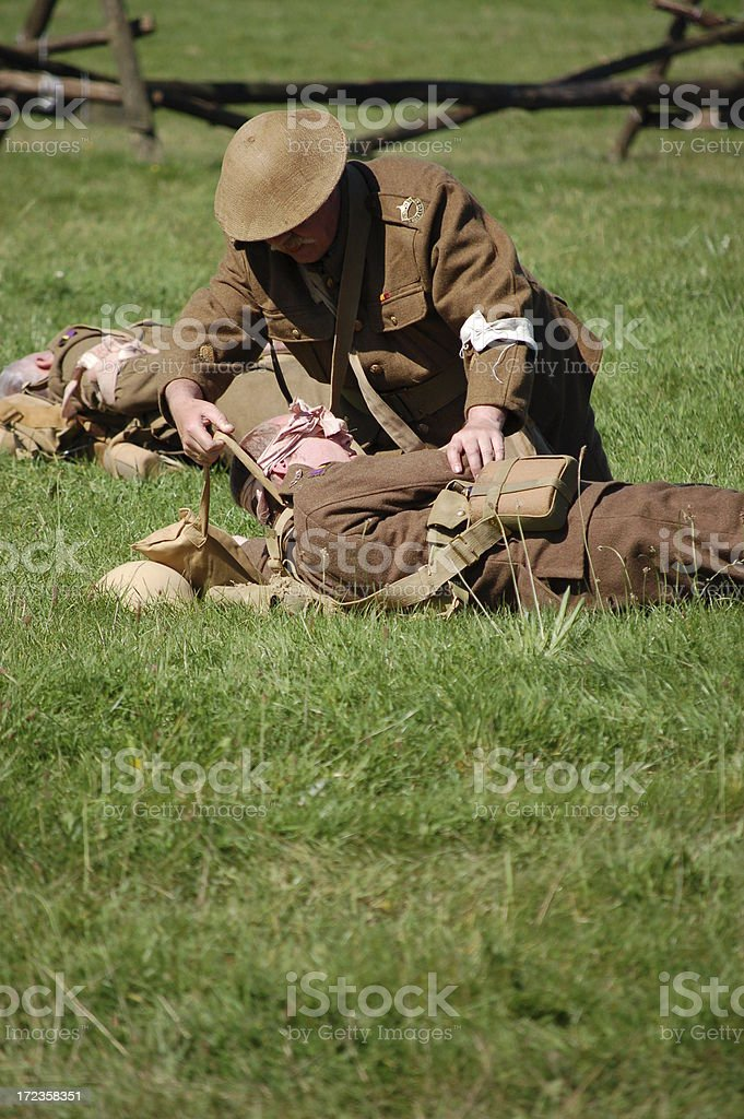 Casualty of war. royalty-free stock photo