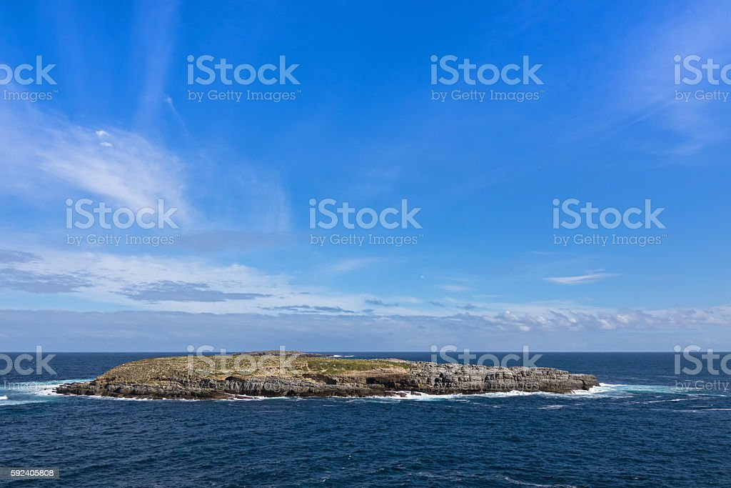 Casuarina islets, the Brothers, part of Flinders Chase  National Park stock photo
