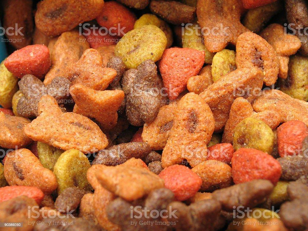 Cat Food (Macro) royalty-free stock photo