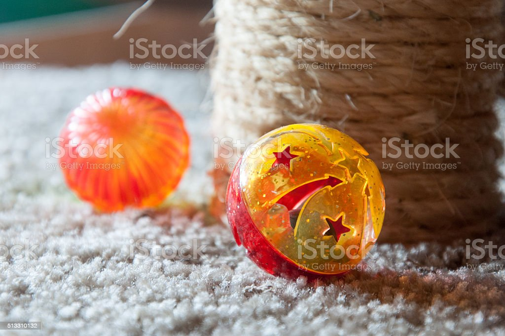 Cat Toys stock photo