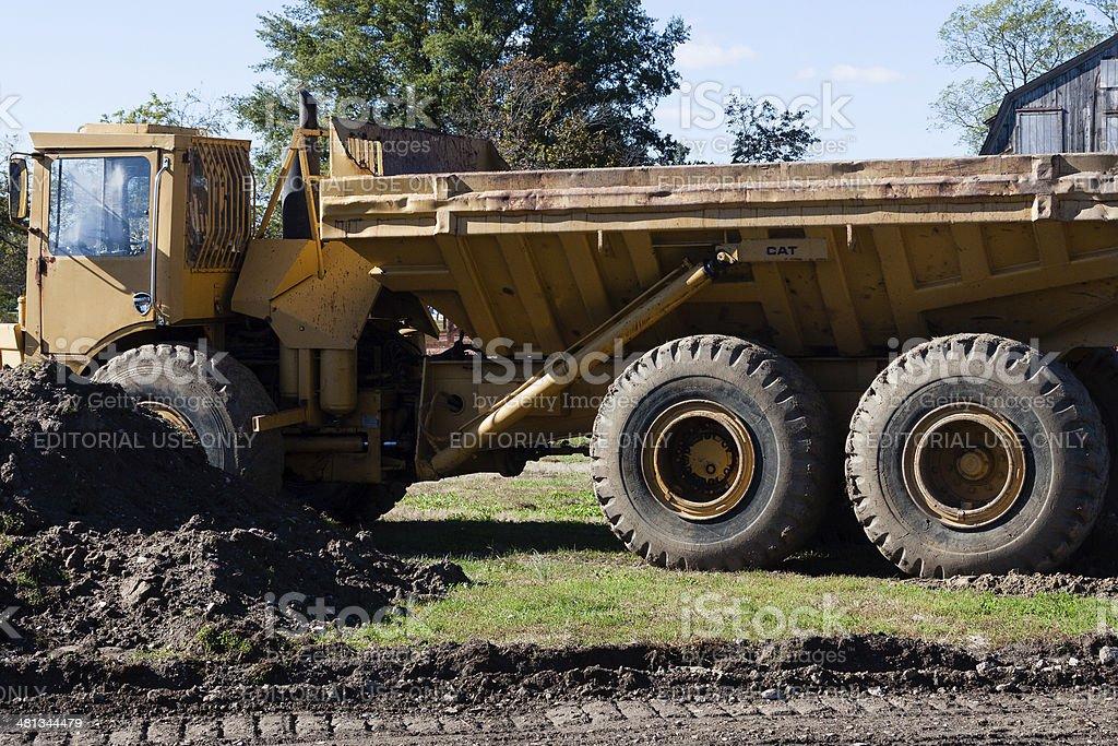 cat truck stock photo