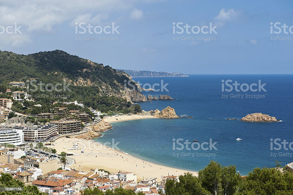Catalan coast. Costa Brava stock photo