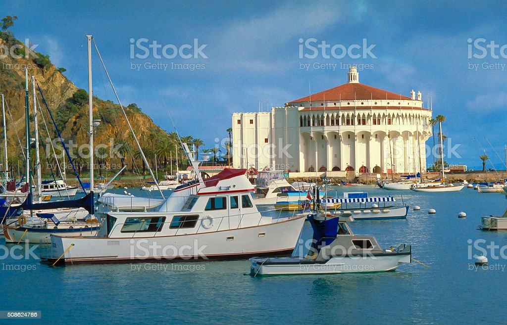 Catalina Island - Avalon Harbor stock photo