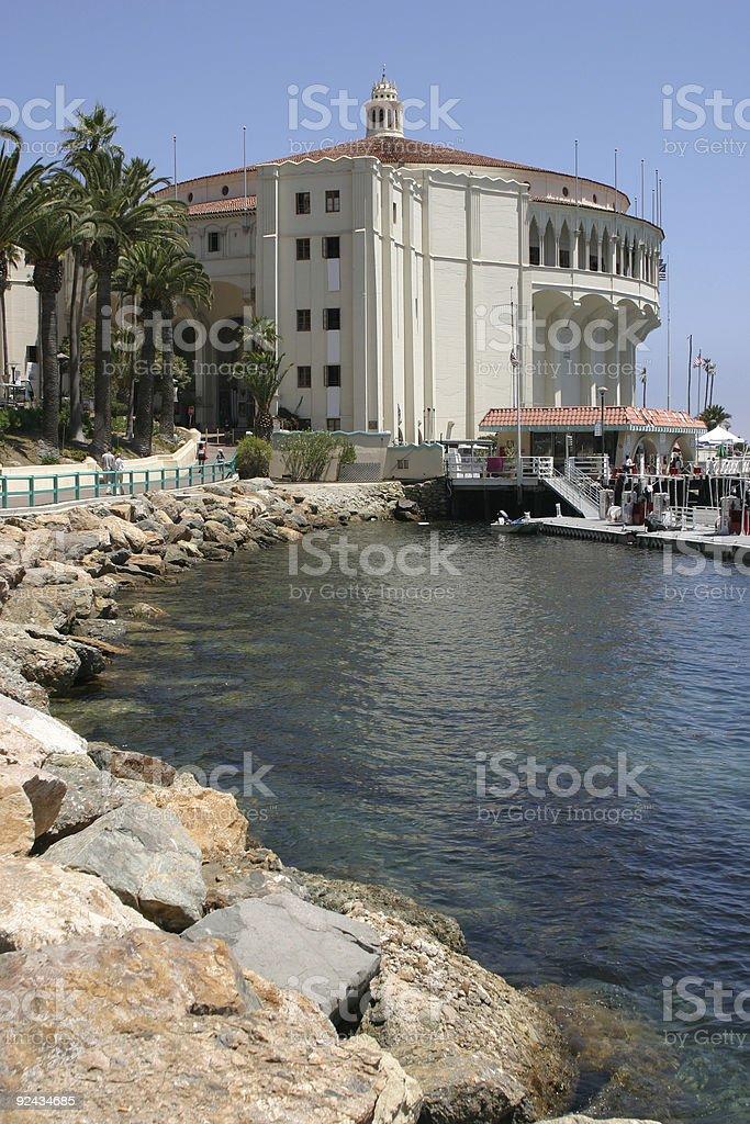 Catalina Island Casino royalty-free stock photo