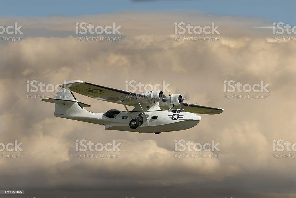 PBY Catalina royalty-free stock photo