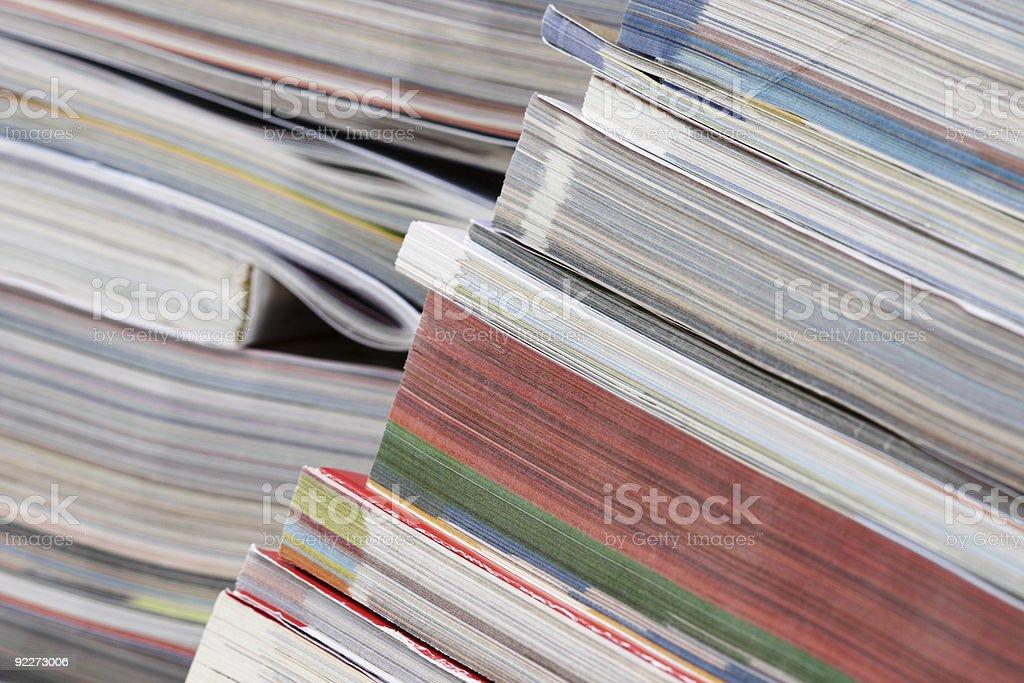 Catalogs royalty-free stock photo