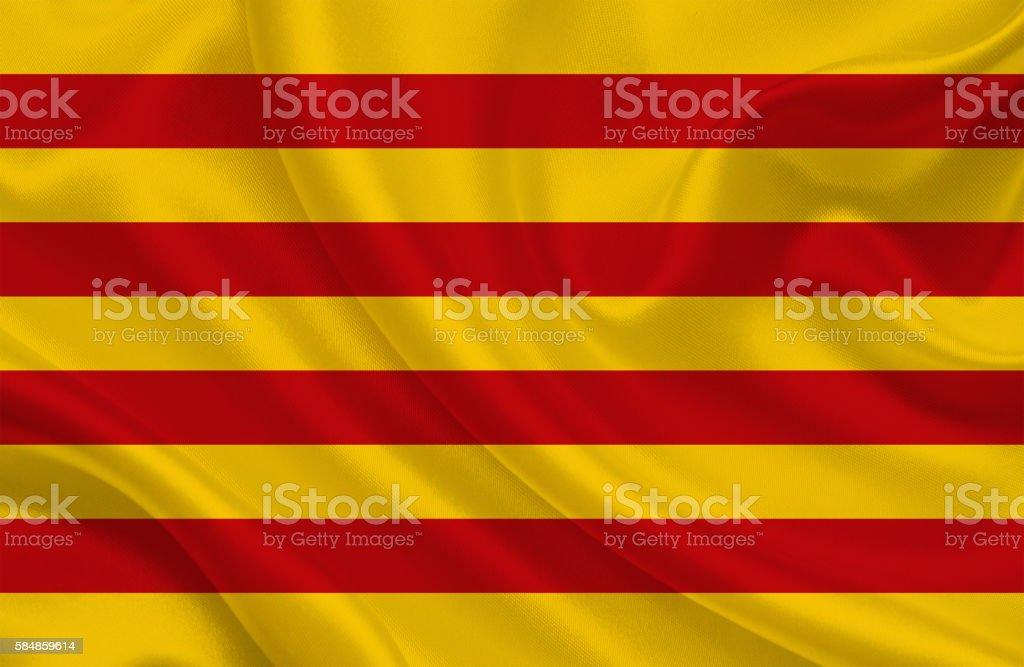 Catalunyan Flag stock photo