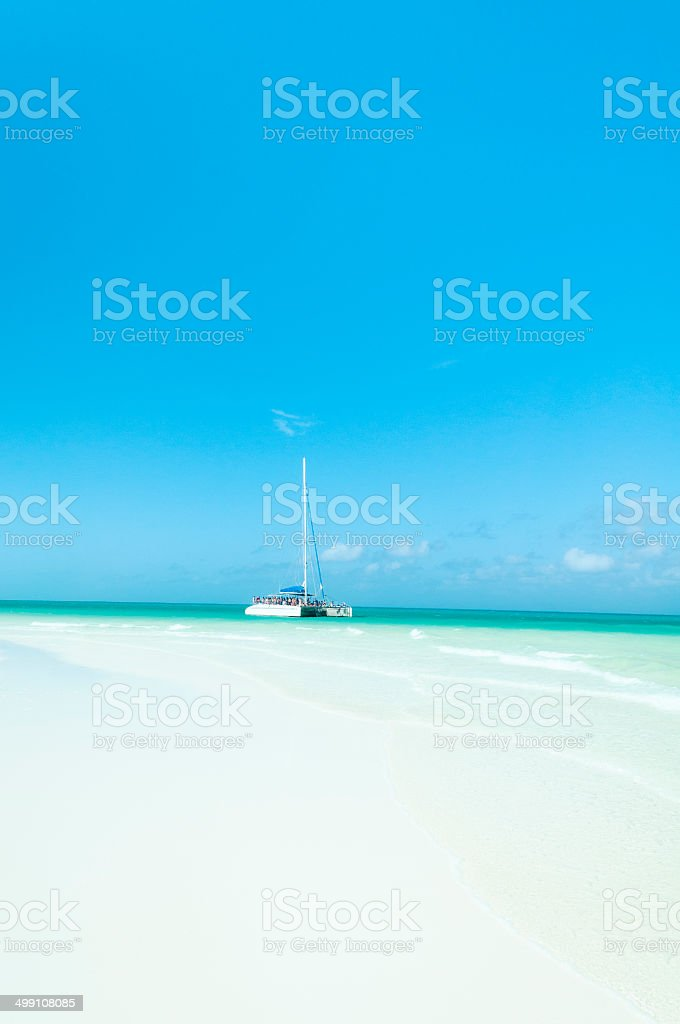 Catamaran stock photo