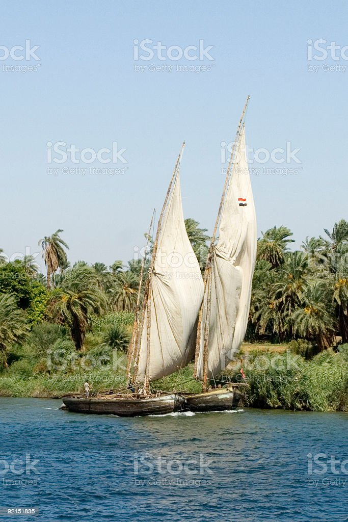 Catamaran (close-up) royalty-free stock photo