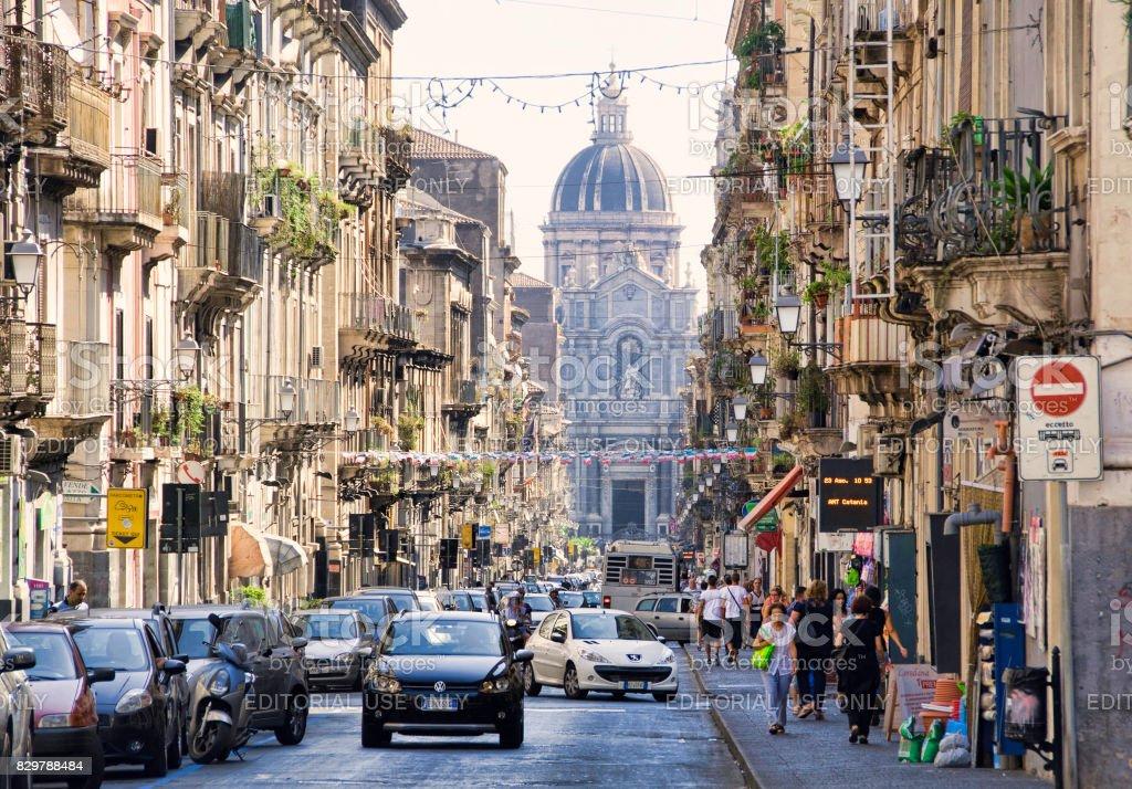 Catania, Sicily stock photo