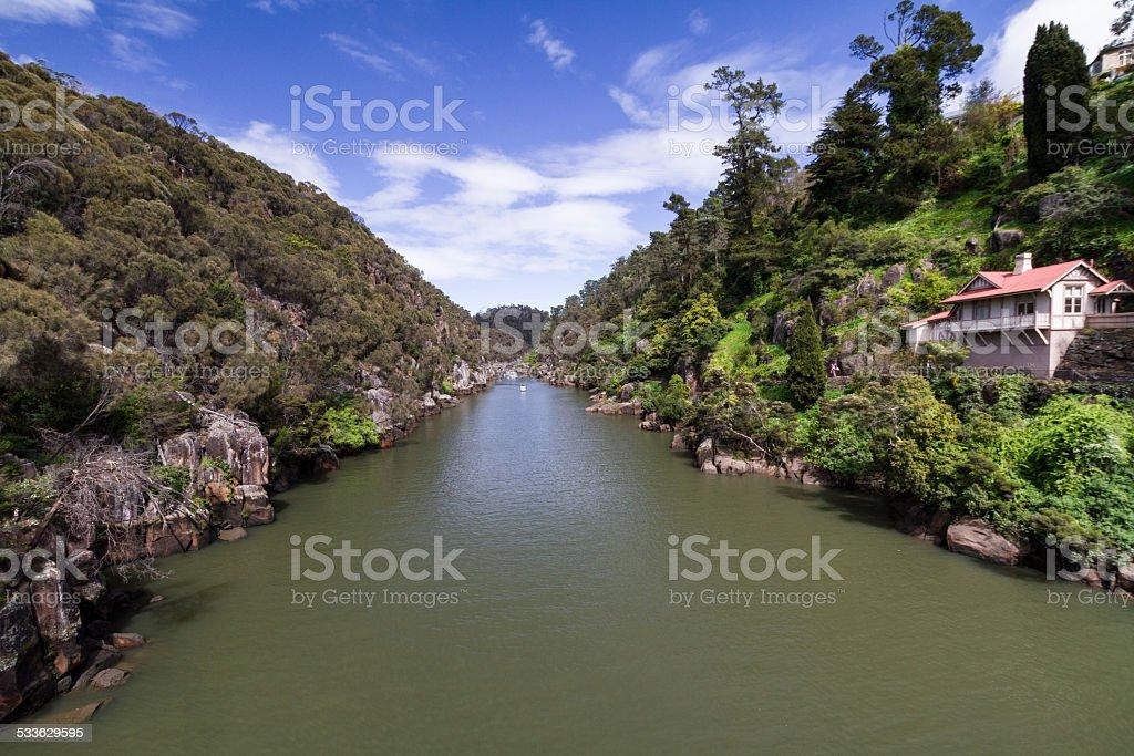Cataract Gorge stock photo