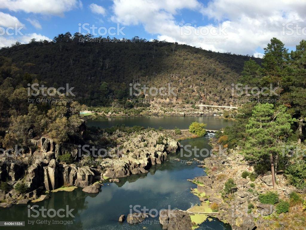 Cataract Gorge Reserve, Launceston stock photo