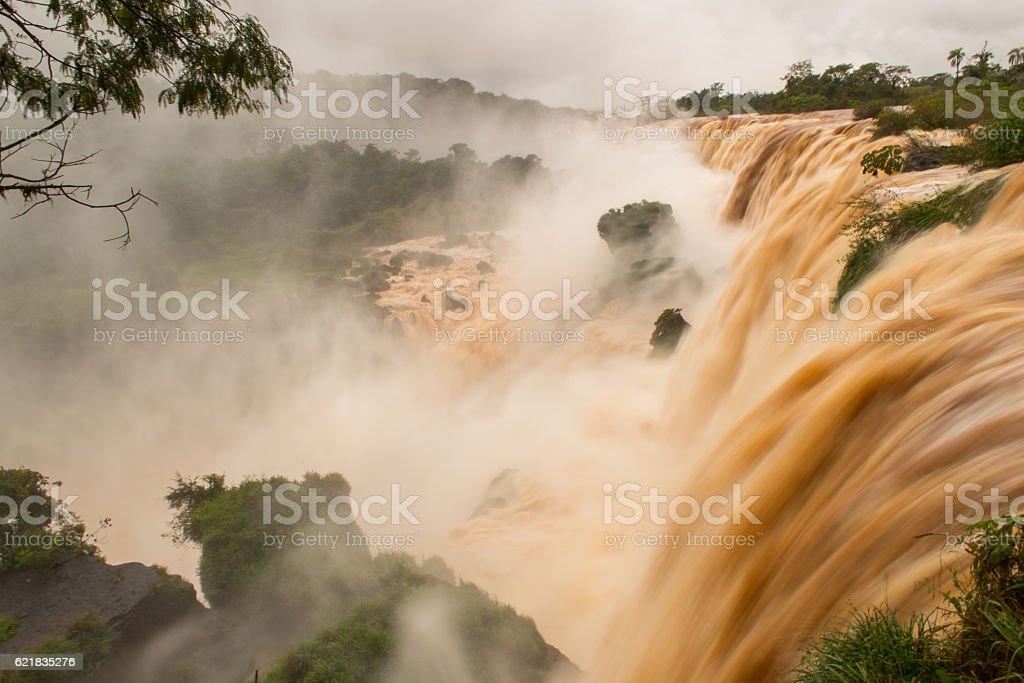 Cataratas del Iguazú stock photo