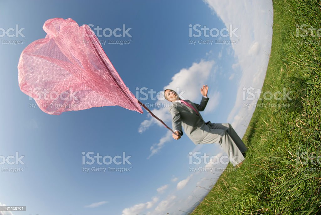 Catch It If You Can royalty-free stock photo
