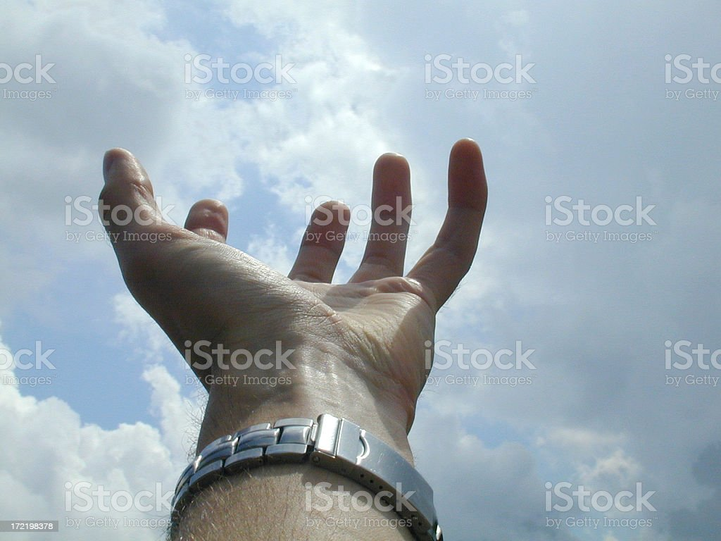 Catch the Sky royalty-free stock photo