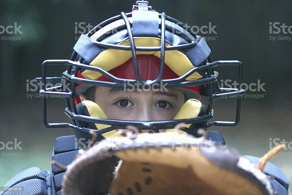 Catcher royalty-free stock photo