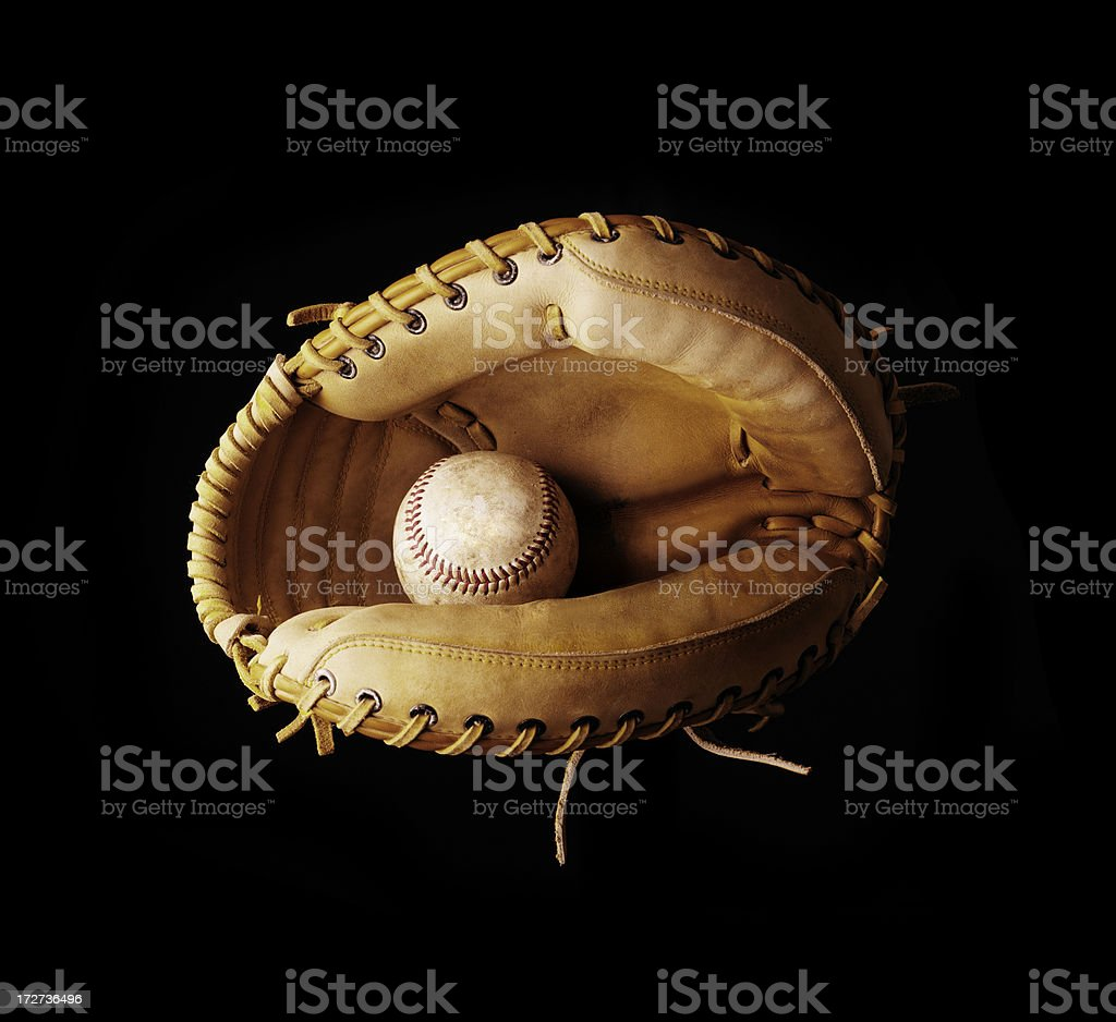 Catcher's Mitt stock photo