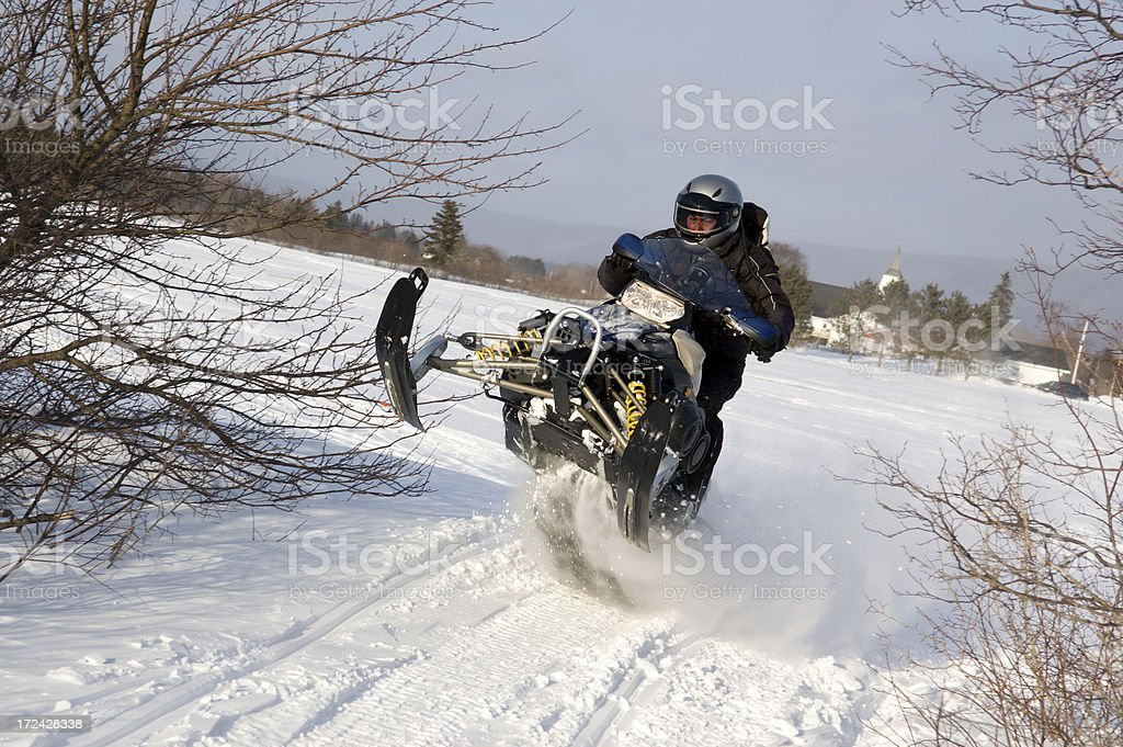 Catching Air royalty-free stock photo