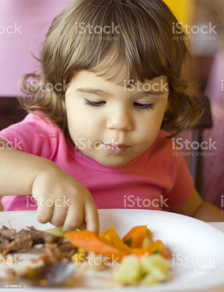 catching the food royalty-free stock photo