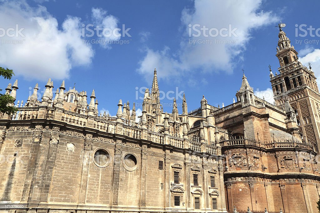 'Catedral and Giralda, Seville, Spain' stock photo