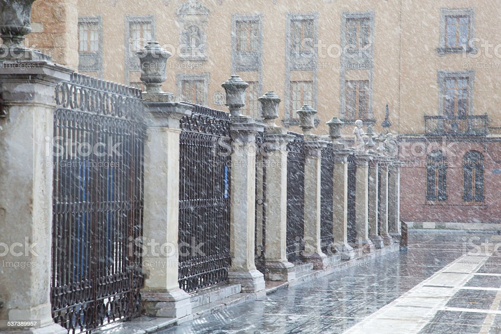 Catedral de Leon, Spain stock photo