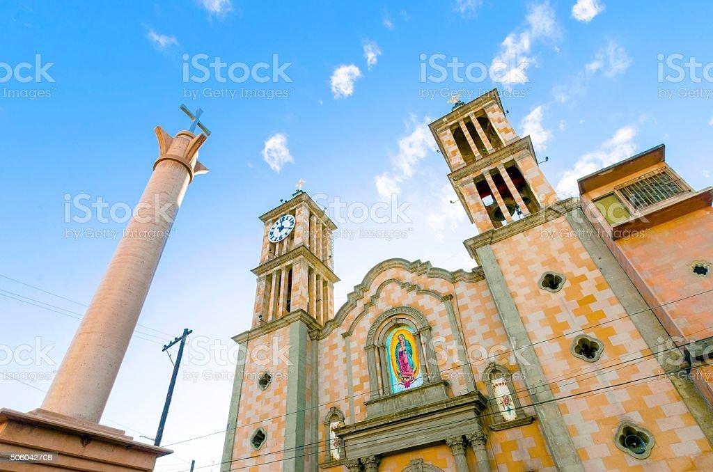 Catedral de Nuestra Senora de Guadalupe, Tijuana, Mexico stock photo