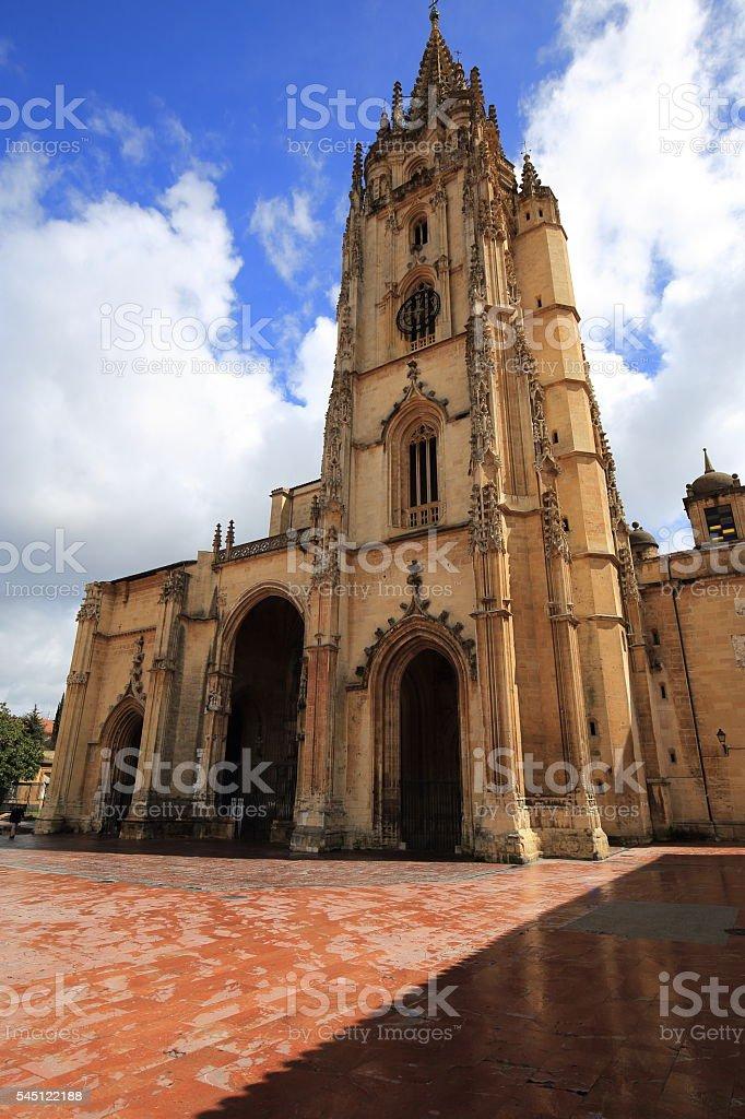 Catedral de Oviedo stock photo