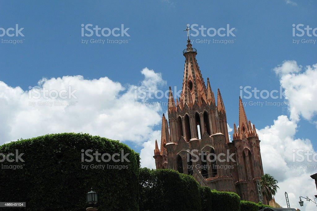 Catedral de San Miguel stock photo