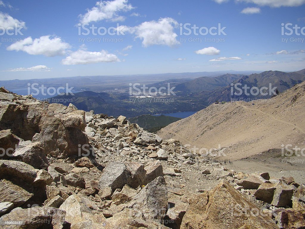 Catedral Hill stock photo