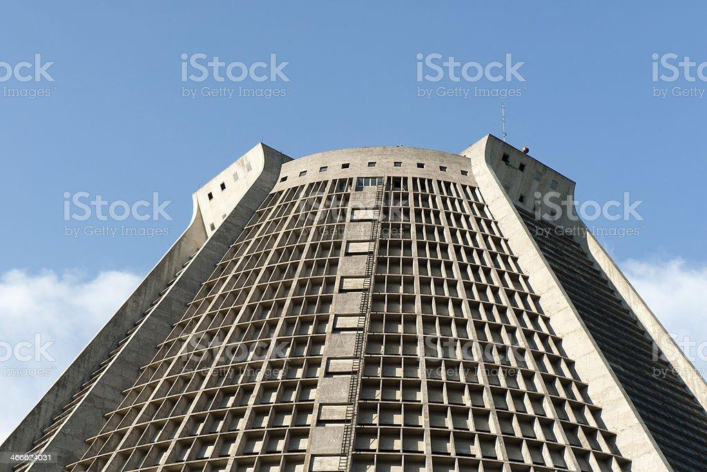 Catedral Metropolitana (Rio de Janeiro) stock photo