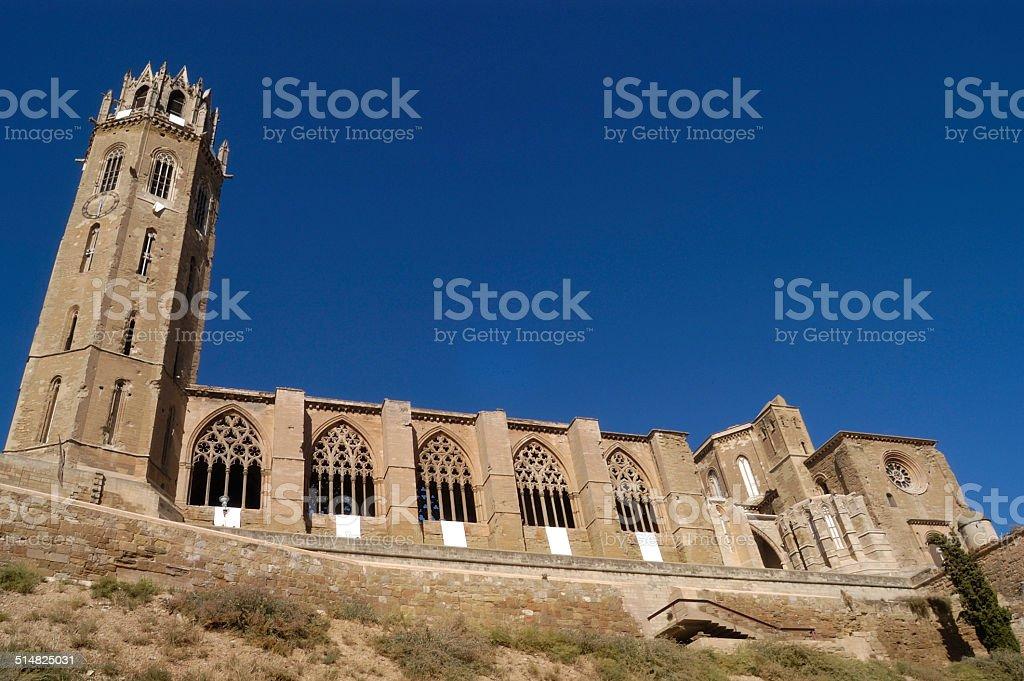 catedral,La Seu Vella, Lerida stock photo