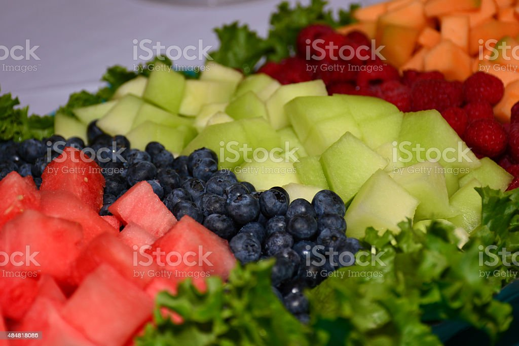 Catered Fruit royalty-free stock photo