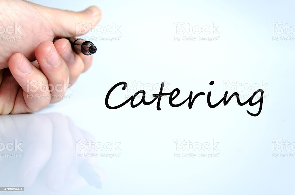 Catering concept stock photo