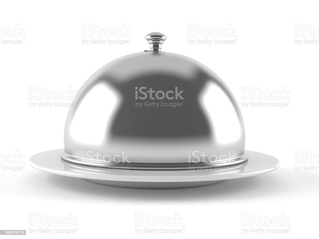 Catering dome stock photo
