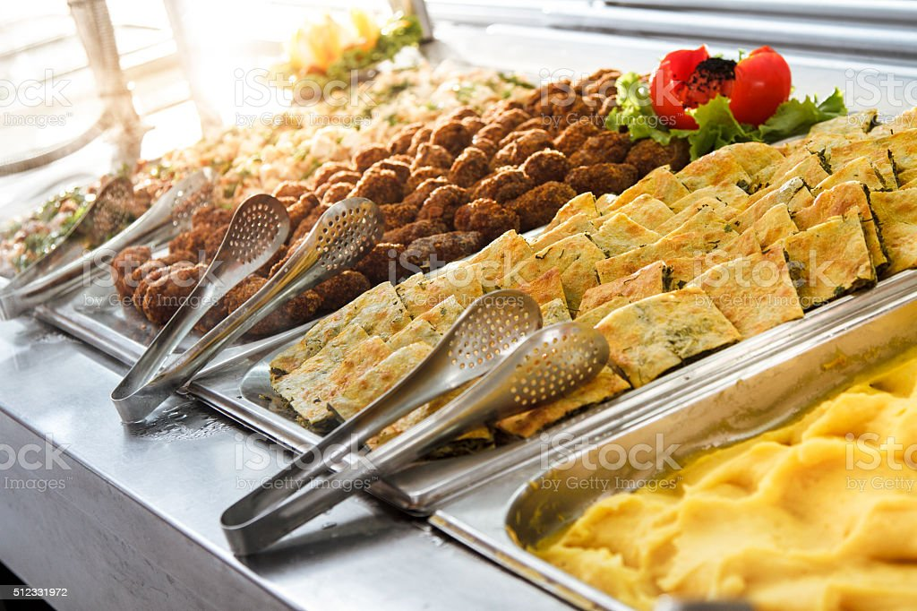 Catering Food Close Up stock photo