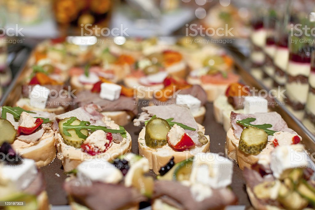 Catering Food royalty-free stock photo