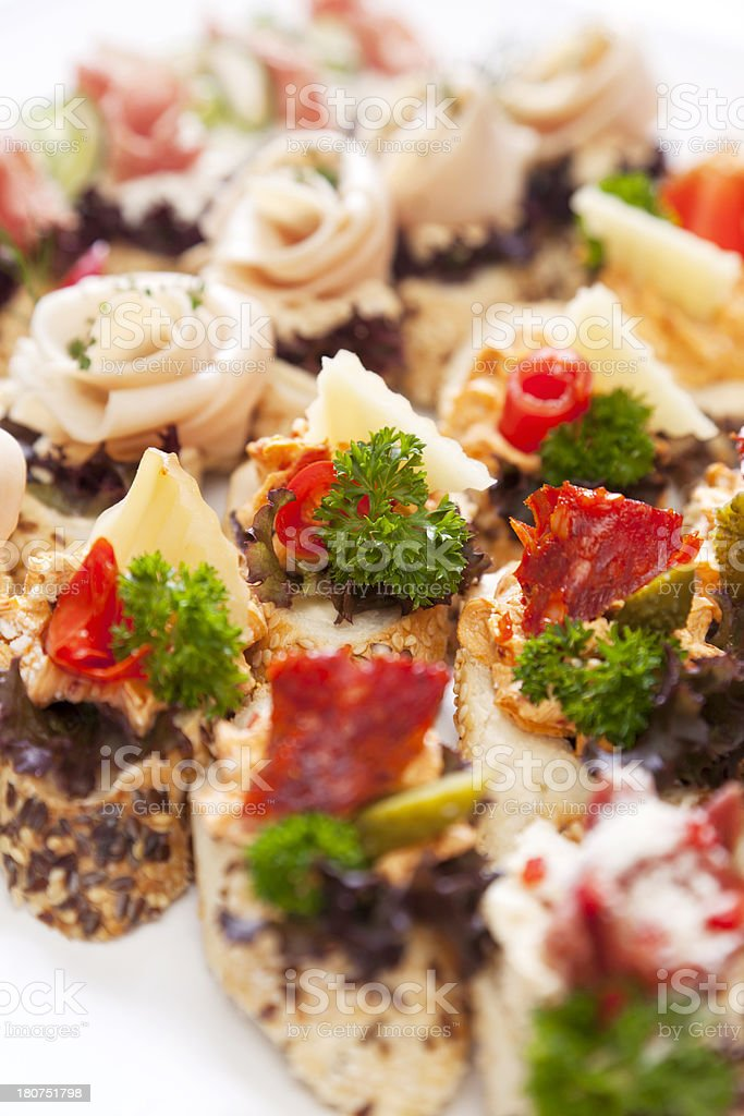 Catering royalty-free stock photo