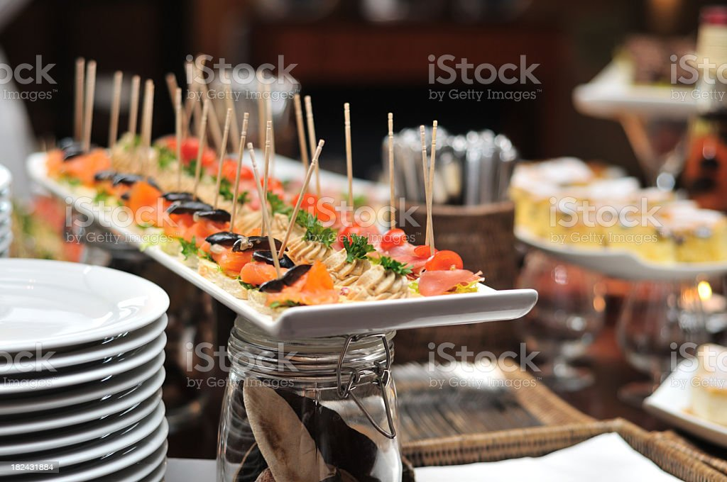 Catering stock photo