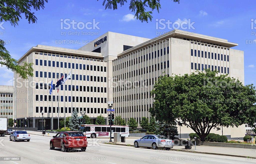 Caterpillar Inc. Corporate Headquarters stock photo