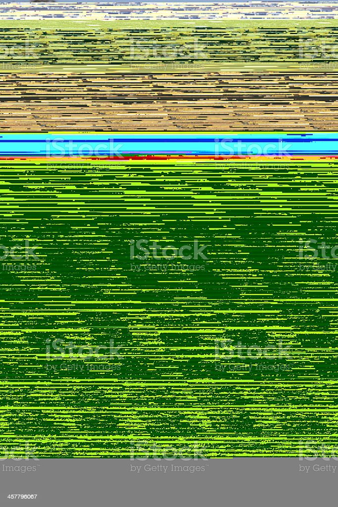 Caterpillar Track Construction Machine Earth Mover royalty-free stock photo