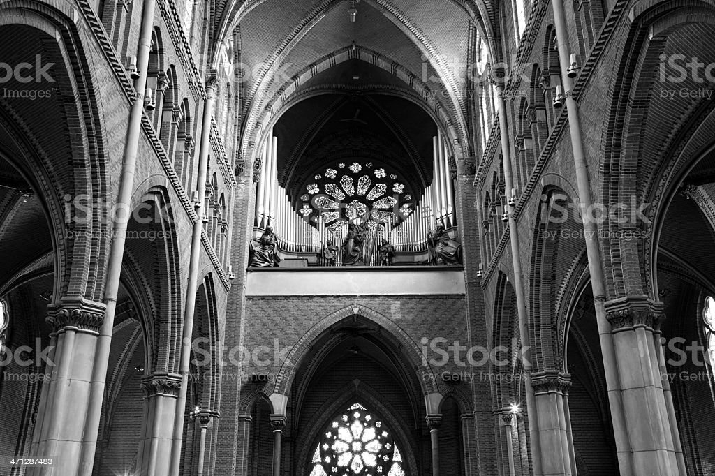 Catharinakerk Eindhoven stock photo